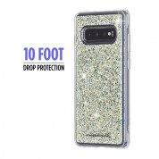 CaseMate Twinkle Case for Samsung Galaxy S10 (white) 2