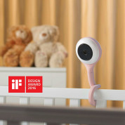 Lollipop Smart Wi-Fi-Based Baby Camera - иновативен WiFi бебефон с 4х зуум за iOS и Android (розов) 1