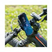 4smarts Universal Sports Band ATHLETE PRO for the Forearm SET with BIKE HOLDER - спортен калъф за ръка и поставка за колело за iPhone и смартфони до 7 инча (черен) 9