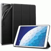 ESR Yippee Color Gentility Case - полиуретанов калъф и поставка за iPad Air 3 (2019) (черен)