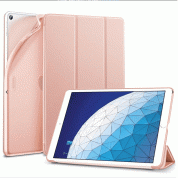 ESR Yippee Color Gentility Case On/Off Case and stand for iPad Air 3 (2019) (rose)