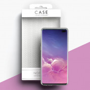 Case FortyFour No.1 Case - силиконов TPU калъф за Samsung Galaxy S10 Plus (прозрачен) 2