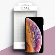 Case FortyFour No.3 Case - поликарбонатов кейс за iPhone XS, iPhone X (черен) 2