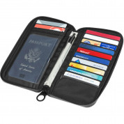 Incase Travel Passport Zip Wallet (anthracite) 7
