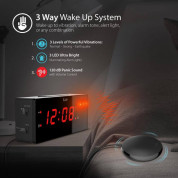 iLuv TimeShaker Wow Wired Bed-Shaker Alarm Clock 4