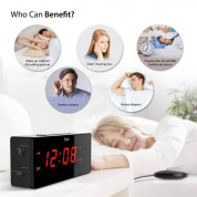 iLuv TimeShaker Wow Wired Bed-Shaker Alarm Clock 5
