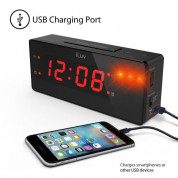iLuv TimeShaker Wow Wired Bed-Shaker Alarm Clock 2