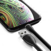 Satechi Flexible Lightning USB Cable - гъвкав USB кабел за iPhone, iPad и iPod с Lightning (черен) (15 см) 1