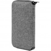 Incase Travel Passport Zip Wallet (heather gray) 3