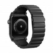 Nomad Strap Titanium Band - титаниева каишка за Apple Watch 42мм, 44мм (черен) 1