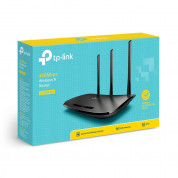 TP-Link TL-WR940N, 450Mbps Wireless N Speed - мрежов рутер с 3 x 5dBi антени 3