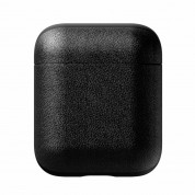 Nomad Leather Case for Apple Airpods (black) 1