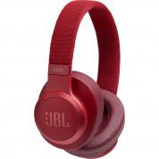 JBL Live 500BT - Wireless Over-Ear Headphones (red)