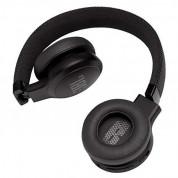 JBL Live 400BT - безжични Bluetooth слушалки с гласово управление за мобилни устройства (черен)  2