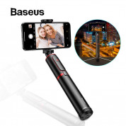 Baseus Fully Folding Selfie Stick (black-red) 1