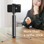Baseus Fully Folding Selfie Stick (black-red) 2