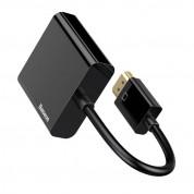 Baseus HDMI 1080P to VGA HD Converter (CAHUB-BH01) - HDMI към VGA адаптер (черен) 3
