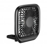 Baseus Foldable Vehicle Mounted Backseat Fan (black) 2