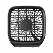 Baseus Foldable Vehicle Mounted Backseat Fan (black)
