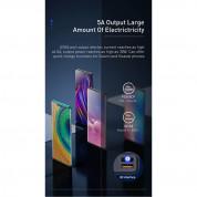 Baseus Ambilight Power Bank with Digital Display Quick Charge (PPLG-01) - външна батерия 30000 mAh с 4xUSB и USB-C изходи за зареждане на смартфони и таблети (черен) 8