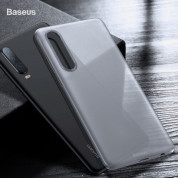 Baseus Wing case - тънък полипропиленов кейс (0.45 mm) за Huawei P30 (бял) 5