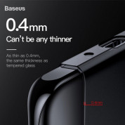 Baseus Wing case - тънък полипропиленов кейс (0.45 mm) за Huawei P30 (бял) 6