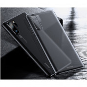 Baseus Wing case - тънък полипропиленов кейс (0.45 mm) за Huawei P30 Pro (сив) 6