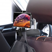 Baseus Backseat Vehicle Phone Holder Hook (black) 13