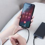 Baseus Rhythm Bent Audio Data Cable - USB Lightning кабел с допълнителен Lightning порт за устройства с Lightning конектор (120 см) 7