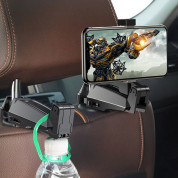 Baseus Backseat Vehicle Phone Holder Hook (khaki) 9