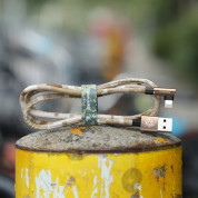 Baseus Camouflage Mobile Game Cable - Lightning USB кабел за iPhone, iPad и iPod с Lightning (100 см) (кафяв) 6