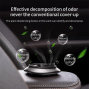 Baseus Little Volcano Vehicle-mounted Fragrance Holder 4PCS Solid Perfumes (black) 4