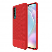 JT Berlin BookCase Pankow Soft - силиконов TPU калъф за Huawei P30 (червен)