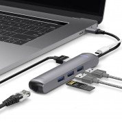 Elago Multi 6 in 1 USB-C Hub (dark gray) 1