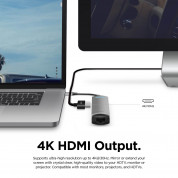 Elago Multi 6 in 1 USB-C Hub (dark gray) 3