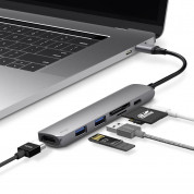 Elago Multi 6 in 1 USB-C Hub Card Reader (dark gray) 1