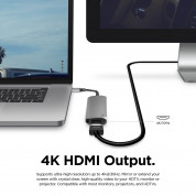 Elago Multi 6 in 1 USB-C Hub Card Reader (dark gray) 4