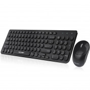Tecknet Wireless Keyboard and Mouse Set X10615