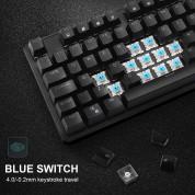 TeckNet X10707 LED Illuminated Mechanical Gaming Keyboard - механична геймърска клавиатура с LED подсветка (за PC) 4