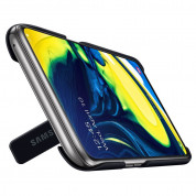 Samsung Standing Cover EF-PA805CBEGWW - оригинален поликарбонатов кейс за Samsung Galaxy A80 (черен) 4