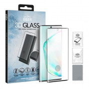 Eiger 3D Glass Case Friendly Curved Tempered Glass for Samsung Galaxy Note 10 Plus (black-clear) 3