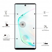 Eiger 3D Glass Case Friendly Curved Tempered Glass for Samsung Galaxy Note 10 Plus (black-clear) 1