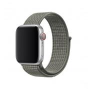 Apple Watch Nike Sport Loop - оригинална текстилна каишка за Apple Watch 38мм, 40мм (тъмнозелен)