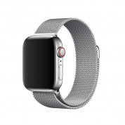 Apple Milanese Loop Stainless Steel for Apple Watch 42mm, 44mm (silver)