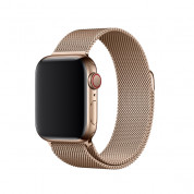 Apple Milanese Loop Stainless Steel for Apple Watch 42mm, 44mm (gold)