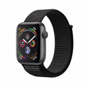 Apple Watch Series 4, 44mm Space Grey Aluminum Case with Black Sport Loop - умен часовник от Apple