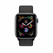 Apple Watch Series 4, 44mm Space Grey Aluminum Case with Black Sport Loop - умен часовник от Apple 1