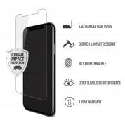 Skech Protection 360 Plus Pack - комплект удароустойчив кейс, стъклено защитно покритие и Lightning USB кабел за iPhone XR (брокат) 3