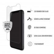 Skech Protection 360 Plus Pack - комплект удароустойчив кейс, стъклено защитно покритие и Lightning USB кабел за iPhone XS Max (прозрачен) 3