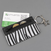 4smarts DressUP Zip with Finger Ring (zebra) 1